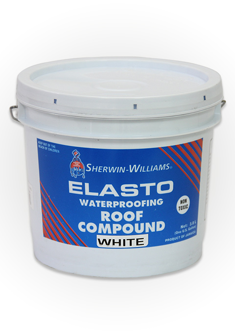 S w elasto waterproofing roof compound sherwin williams