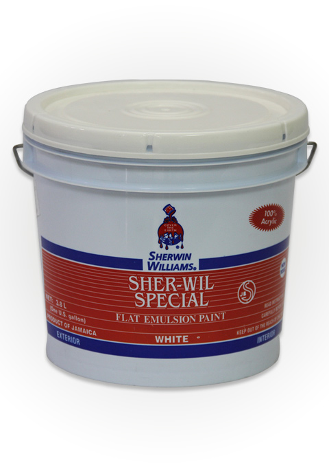 Sher Wil Special Flat Emulsion Sherwin Williams Jamaica