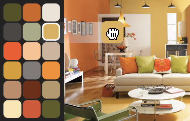 Blog sherwin williams jamaica for Interior paint color visualizer